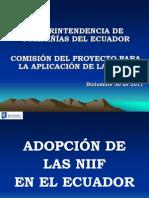 Charlas SuperCias - Partidas Contables Segun NIIF