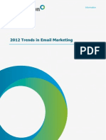 2012 Trends in Email Marketing