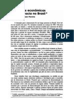 Ideologias econômicas e democracia no Brasil