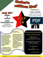july 26th 2012 celebration - flyer