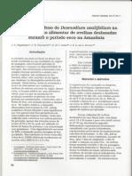 Feno de Desmodium ovalifolium na Alimentação de Ovinos Deslanados