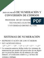 TEMA2 SISTEMAS DE NUMERACIÓN Y CONVERSIÓN DE CÓDIGOS