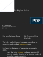 Lecture - Big Mac Index