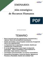 Gestión Estratégica del Capital Humano. Sebastián Vettorello