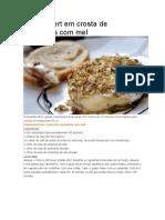 Camembert Em Crosta de Castanhas Com Mel