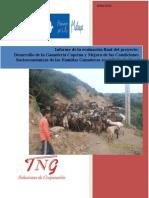 """Informe Evaluación Externa Proyecto """"Ganadería Caprina Marruecos"""""""