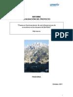 """Informe Evaluación Externa proyecto""""Puesta en Funcionamiento Infraestructuras Ecoturismo en Jbel Kelti, Marruecos"""""""