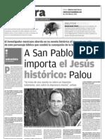 El impostor de Pedro Ángel Palou en Milenio Monterrey