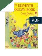 Blyton Enid the Enid Blyton Book 11 the Eleventh Holiday Book 1956