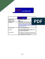 Pmnotebook - Career Plan Template