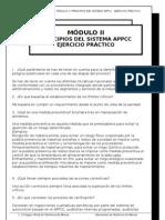 Modulo 2. Principios Del Sistema APPCC. Ejercicio Practico