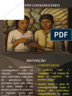 SEMINÁRIO consanguineo-COMENTADO