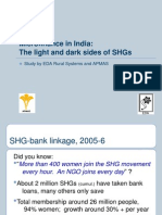 Self Help Groups in India-A Study on Lights and Shades-1