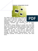 CMOS Voltage Detector Integrated Circuit