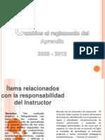 Cambios reglamento de aprendices SENA