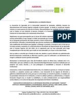 Comunicado Aseduis 2012
