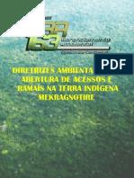 Diretrizes Ambientais para abertura de acessos e ramais na terra indígena Mekragnotire