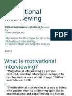 Motivational Interviewing 06.15.2012