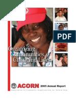 ACORN Annual Report 2005