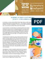 Concurso LIBRESA de Literatura Infantil Ganadores 2012