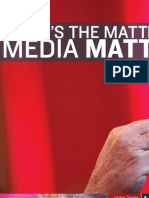 What's The Matter With Media Matters? By Matthew Vadum (Townhall, April 2009)