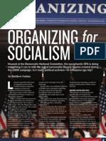 Organizing for Socialism, by Matthew Vadum (Townhall Magazine, December 2009)