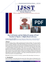The Civil Society and the Political Economy of Food Security in Nigeria