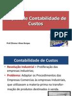 NOÇÕES DE CONTABILIDADE DE CUSTO
