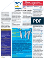 Pharmacy Daily for Wed 27 Jun 2012 - HIV testing in pharmacy, Criminal changes, ACCC, Depression audit and much more...