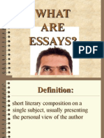 What Are Essays