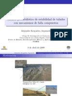 Analisis Porbabilistico de Estabilidad de Taludes- ALEJANDRO KERGUELEN