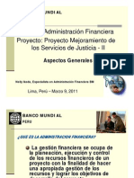 admini financiera
