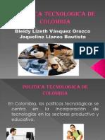 Politica Tecnologica de Colombia Terminada