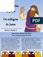 Milagres de Jesus - Miracles of Jesus - Part 2