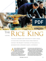 RT Vol. 6, No, 1 The rice king