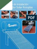 guia calentador solar