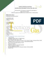 TANQUES ESTACIONARIOS TATSA TEL. 30915124