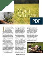 RT Vol. 5, No. 4 The quiet achiever