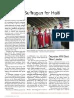 Bishop Suffragan for Haiti