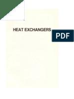 Heat Exchangers, Unit 1