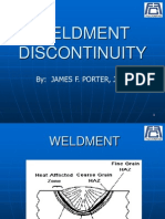 Weld Discontinuity
