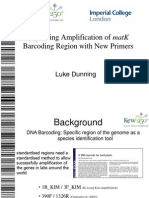 Improving Amplification of MatK Barcoding Region With New Primers_Luke Dunning