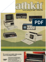 Catalog y1984 Heathkit No865 Spring Archive Computer Dch h89 Kit