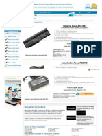 Www.bateriabaratos.com bateria Asus a32 n61