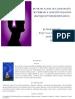 DIVERSAS RAMAS DE LA PSICOLOGÍA DESCRIPCIÓN Y CONCEPTUALIZACIÓN (ENFOQUES INTERDISCIPLINARIOS)