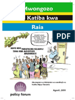 Muongozo-Katiba Ya Tanzania