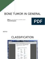Bone Tumor in General
