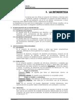 Modulo Estadistica 2009