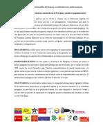 Pronunciamiento de la situación política en Paraguay en solidaridad con el pueblo paraguayo
