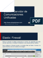 Tutorial Elastix español - Firewall